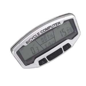 LCD Bicycle Bike Computer Multi function Odometer Speedometer Clock