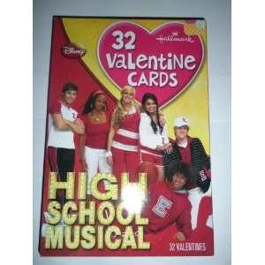 Hallmark Disney High School Musical Valentines Day Cards Toys & Games
