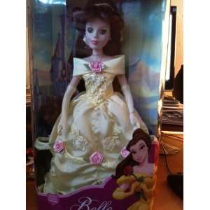 Disney Princess Belle Porcelain Keepsake Doll Toys