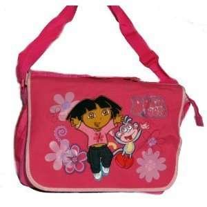 Dora the Explorer and Boots Pink Messenger Bag Purse