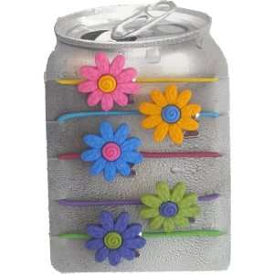 Flower Power Drink Markers for Cups, Cans, Water Bottles, Juice Boxes