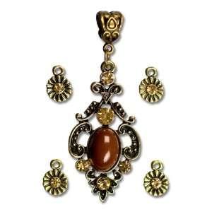 Cousin Jewelry Basics 5 Piece Drop Accent Arts, Crafts