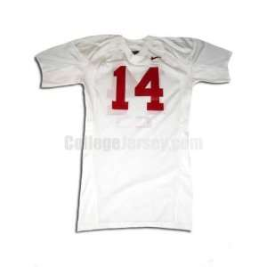 Game Used Alabama Crimson Tide Jersey