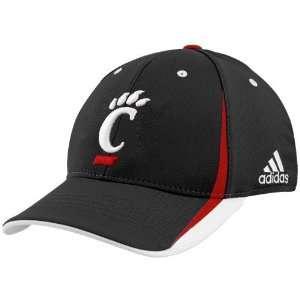 Bearcats Black Official Team Flex Fit Hat