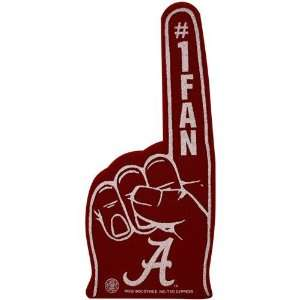 NCAA Alabama Crimson Tide Crimson #1 Fan Foam Finger