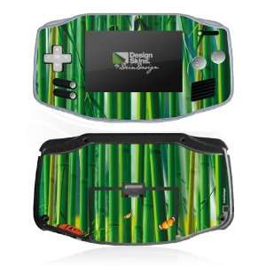 Design Skins for Nintendo Game Boy Advance   bamboo