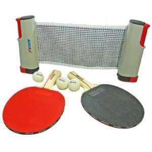 Anywhere Table Tennis Ping Pong Deluxe Set   Paddles