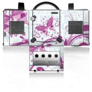 Design Skins for Nintendo Gamecube   Pink Butterfly Design