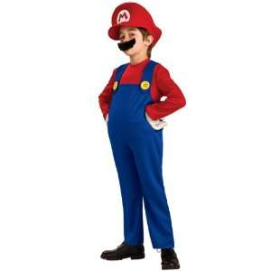 Costume Deluxe Child Small 4 6 Super Mario Brothers Toys & Games