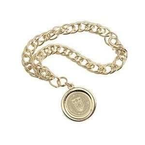 Boston College   Charm Bracelet   Gold