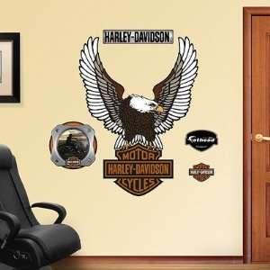 Fathead 16 00001 Harley Davidson Logo Wall Graphic Baby