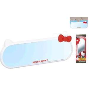 Sanrio Hello Kitty White Rear View Mirror (White Ear and