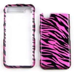 Delve / Instinct M800 / R800Transparent Design, Hot Pink Zebra