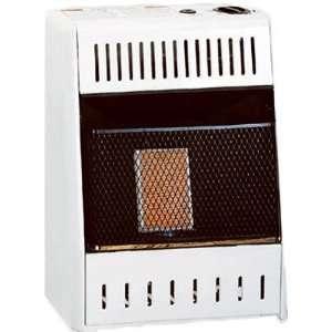 World KWP110, 6K BTU LP Infrared Wall Heater, Cream