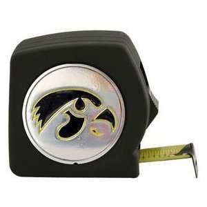 Iowa Hawkeyes Black Tape Measure