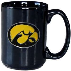 College Logo Mug   Iowa Hawkeyes:  Sports & Outdoors