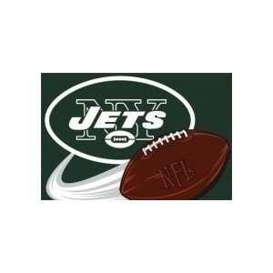 New York Jets NFL Team Tufted 20 x 30 Rug Sports