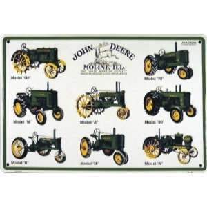John Deere 8 Tractors Parking Sign