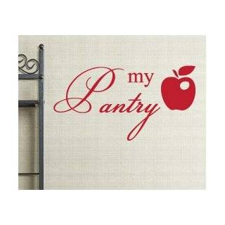 Pantry Kitchen Vinyl Wall Sticker Art Decor Decal Lettering Quote