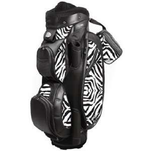 Miss Bennington Ladies Golf Cart Bags   Zebra