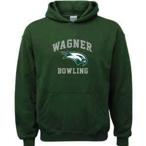Forest Green Youth Bowling Arch Hooded Sweatshirt