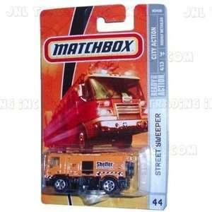 2008 2009 Matchbox STREET SWEEPER truck City Action Series