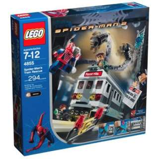LEGO Spider Man 2 Spider Mans Train Rescue  Toys & Games
