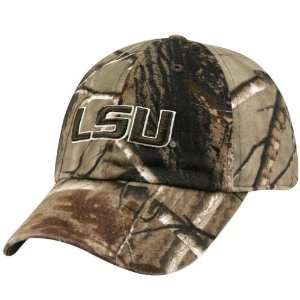 Nike LSU Tigers Real Tree Camo Adjustable Slouch Hat: