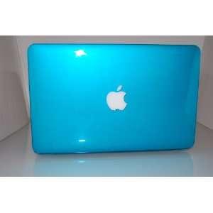 Case_ aqua blue Crystal Hard Case Cover SeeThru for NEW Macbook AIR