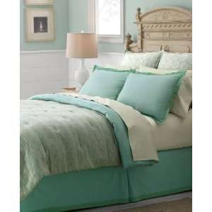 Martha Stewart Mosaic Steps 300T Queen Comforter Bed In A