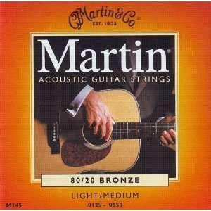 C.F. Martin Acoustic Guitar Martin 80/20 Bronze .0125