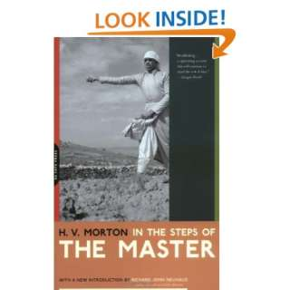 In The Steps Of The Master (9780306810817) H. V. Morton