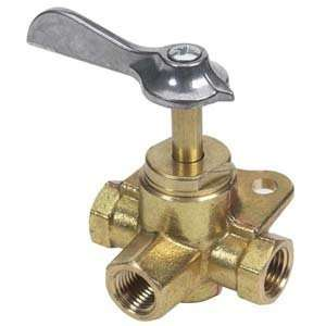 Three Way Fuel Valve Three Female 1 4 NPT Sports