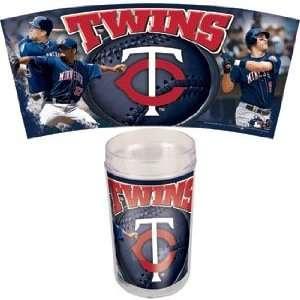 MLB Minnesota Twins Set of 4 Tumbler 16oz Mugs
