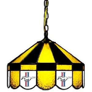 Mustang 16 Stained Glass Swag Hanging Lamp   160SWa MUS