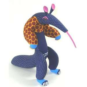 Anteater 9.5 Inch Oaxacan Wood Carving Home & Kitchen