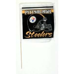 NFL Pittsburgh Steelers Stick Flags   Set of 2 Sports