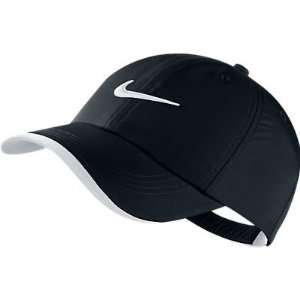 Nike Golf Swoosh Kids Boys Cap Hat Adjustable Black New