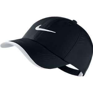Nike Golf Swoosh Kids Boys Cap Hat Adjustable Black New