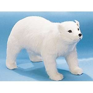 Polar Bear Large Standing 4 Legs Figurine Collectible Statue