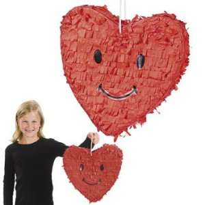 Face Heart Piata   Party Decorations & Pinatas
