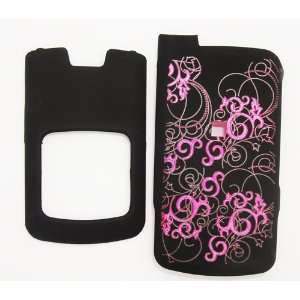 Cuffu   Purple Flame   Premium MOTOROLA I776 Smart Case Cover Perfect