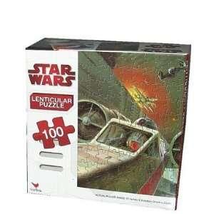Star Wars Puzzle 100 Piece   Starfighter 3D Toys & Games