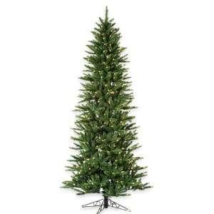 7.5 Slim Monterey Pine Pre Lit Artificial Christmas Tree