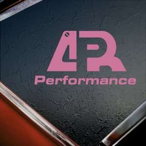 APR Performance Pink Decal Car Truck Bumper Window Pink