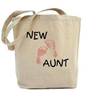 New Aunt pink Family Tote Bag by  Beauty
