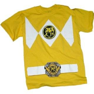 Mighty Morphin Power Rangers Blue Ranger Uniform T Shirt Clothing