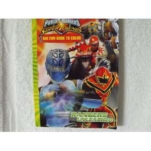 com Power Rangers Super legends ~ Coloring & Activity Book ~ Rangers