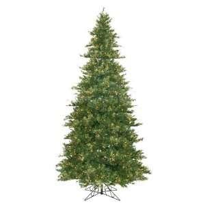 New   12 Pre Lit Slim Mixed Country Pine Christmas Tree