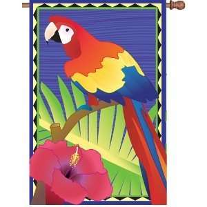 Premier Designs 28 In Flag   Tropical Parrot  Toys & Games